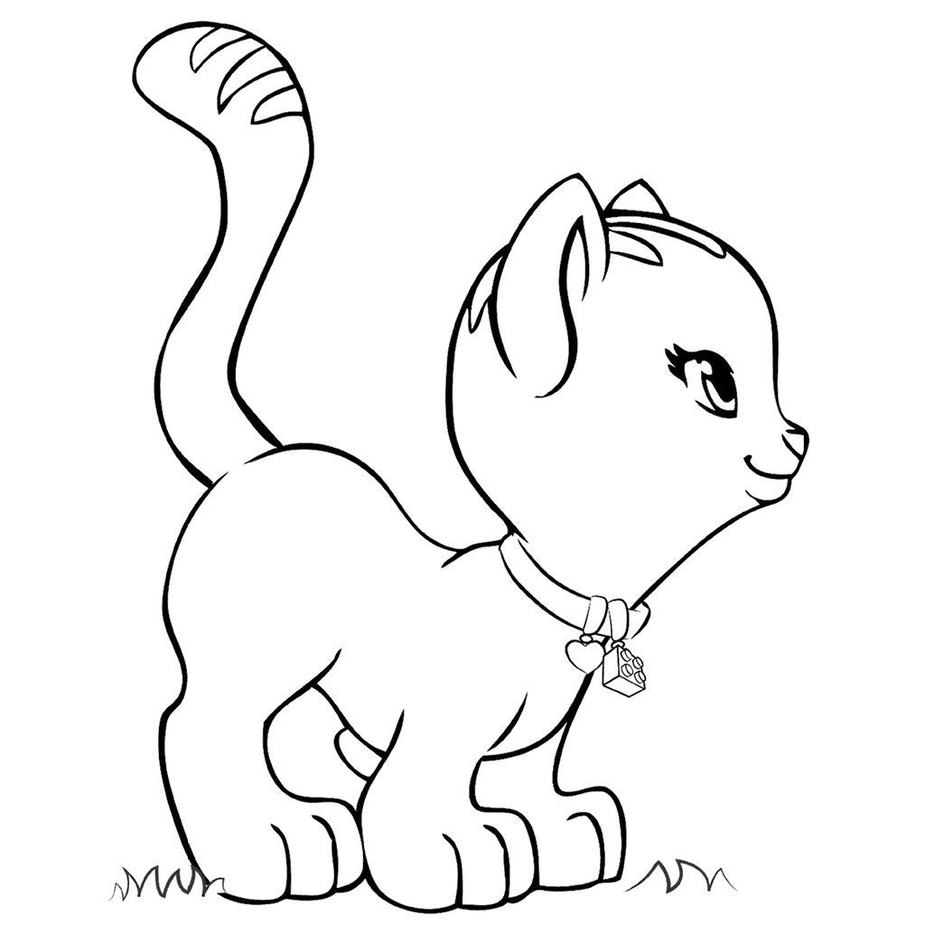 Coloring Rocks Cat Coloring Page Coloring Pages Cartoon Coloring Pages