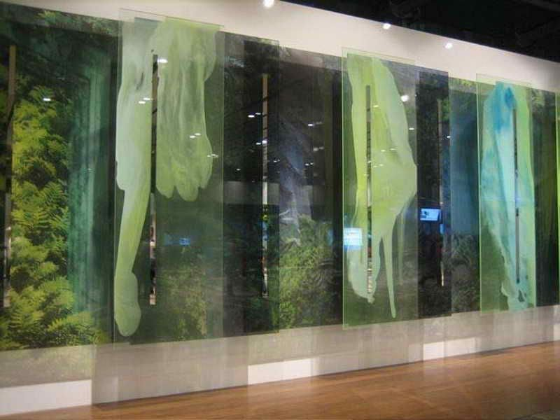 Decorative Glass Wall Panels: Elegant Decorative Glass Wall Panels