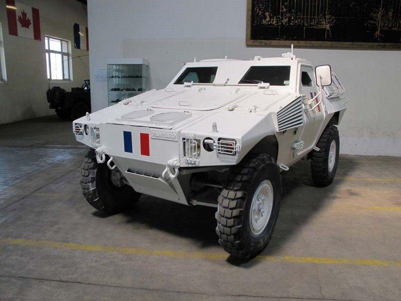 The Panhard Véhicule Blindé Léger is a wheeled 4x4 all-terrain vehicle built by Panhard