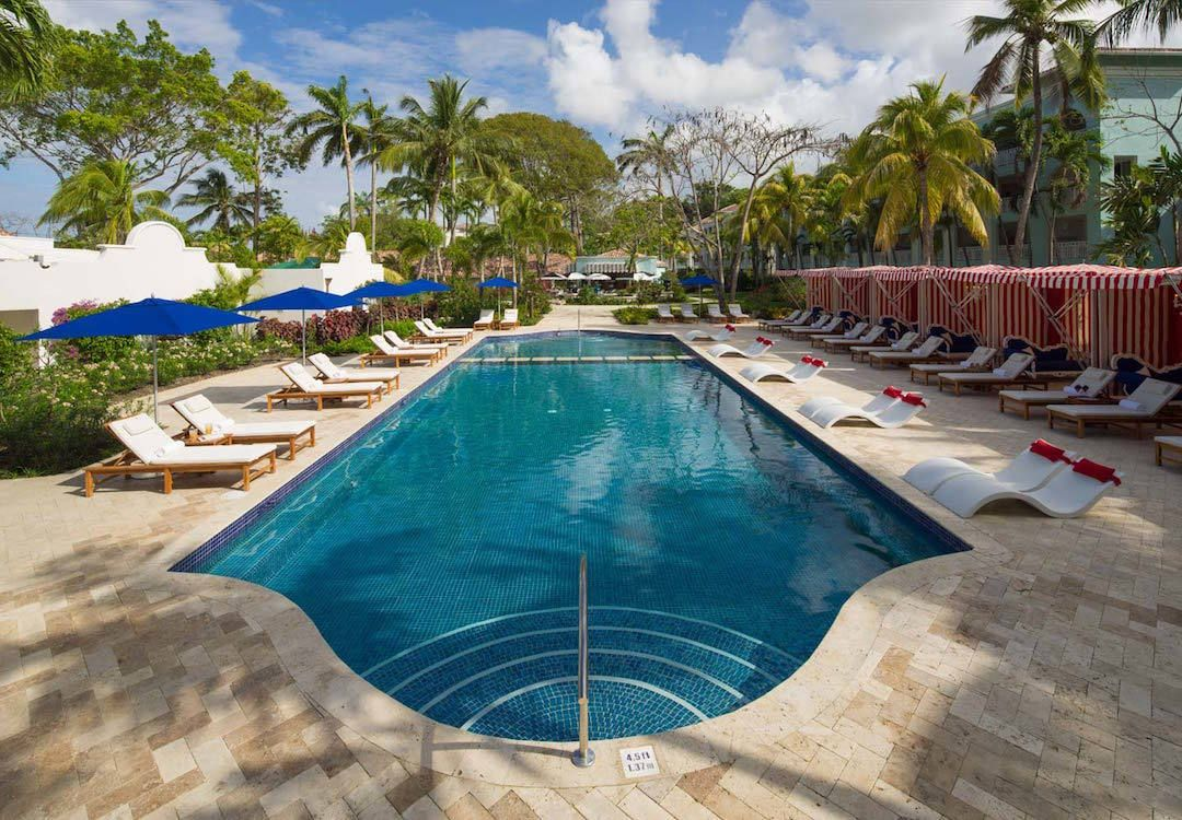Chat chill or even swim laps at this pristine pool