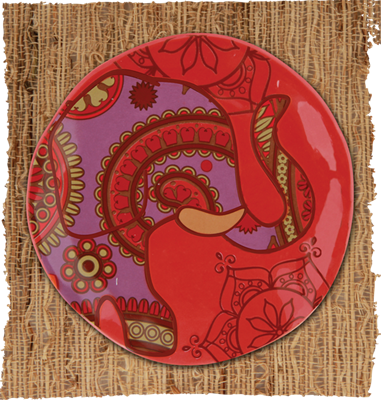 """""""Henna Trinket Tray"""" from the new Fall Karma collection. Boho inspired. Prairie Patches, Lawrence, KS, (785)749-4565."""