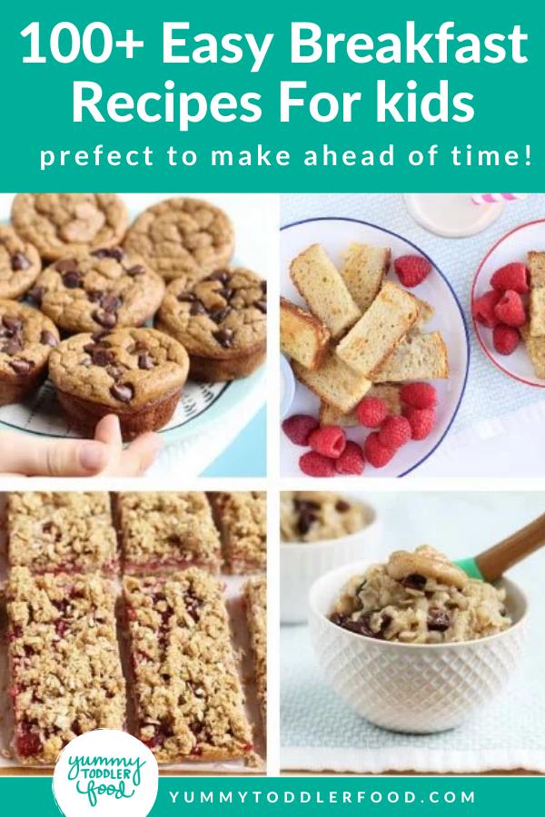 Master List Of Breakfast Recipes For Kids 100 Easy Ideas In 2021 Breakfast For Kids Healthy Breakfast Snacks Quick Snacks For Kids