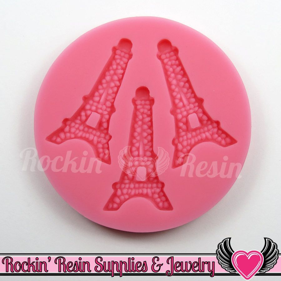 Paris EIFFEL TOWER Silicone MOLD, Food Grade