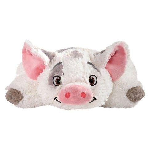 Moana Pua Pillow Pet Pink, Women's Animal pillows, Mini