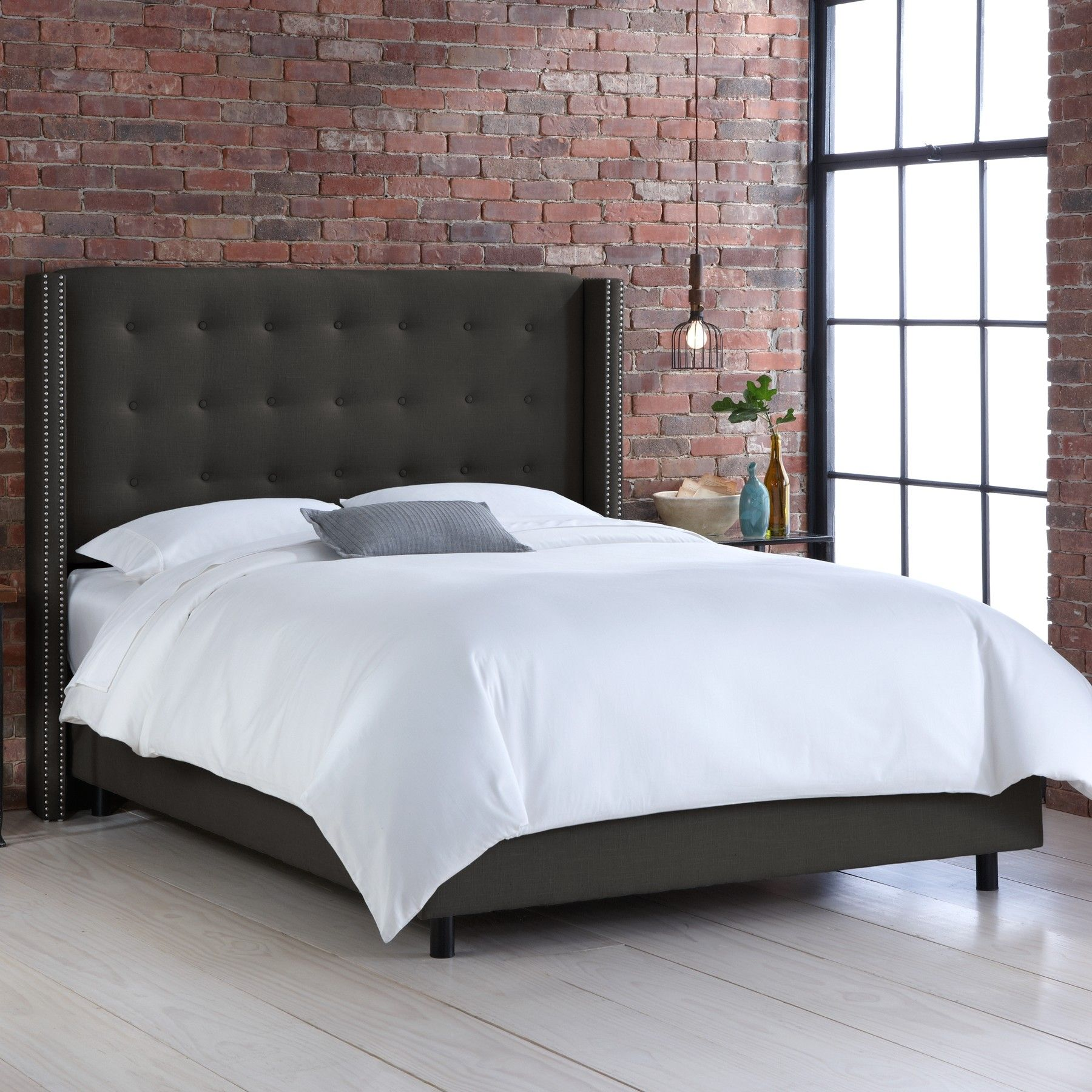 Kipp Upholstered Panel Bed | Products | Pinterest