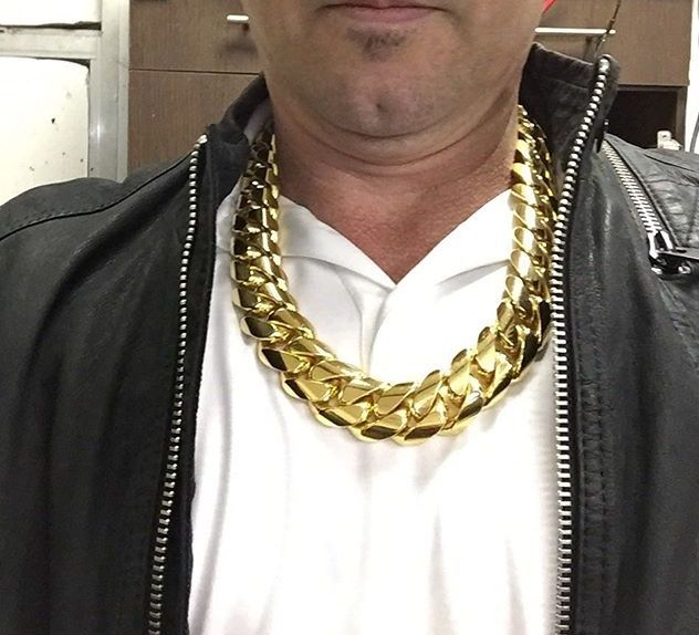 Pin By Jason Smith On Huge Gold Chian Chain Jewelry Gold
