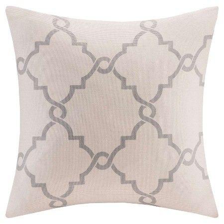 Sereno Fretwork Print Throw Pillow Throw Pillows Pillows And Amazing Fretwork Decorative Pillow