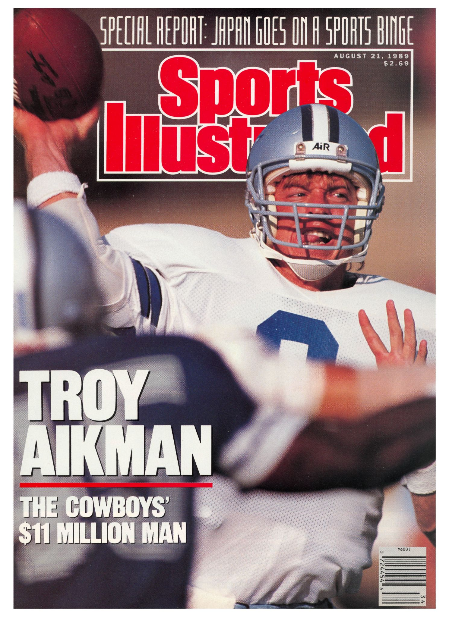 August 21 1989 issue viewer sports illustrated covers