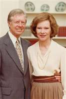 President Jimmy Carter and wife Rosalynn