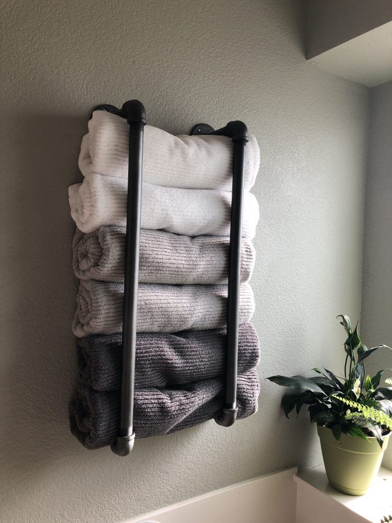17 Best Bathroom Towel Rack Ideas And Towel Hangers For Your