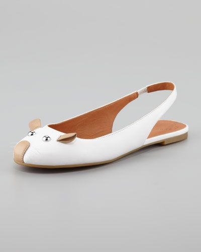 b42b57fa5032 MARC BY MARC JACOBS Mouse Slingback Ballerina Flat