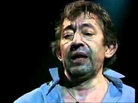 (13) Serge Gainsbourg - Je suis venu te dire que je m'en vais (live)