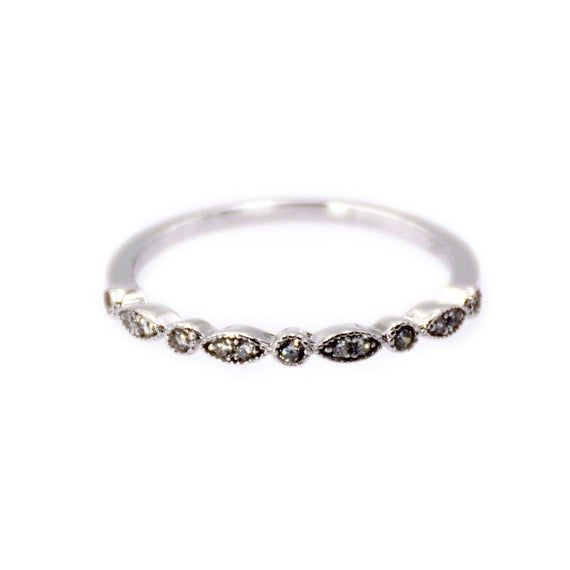 Photo of Marquise CZ 925 Sterling Silver Rings Promise Delicate Dainty Jewelry Charms For Girls Simple Style T122