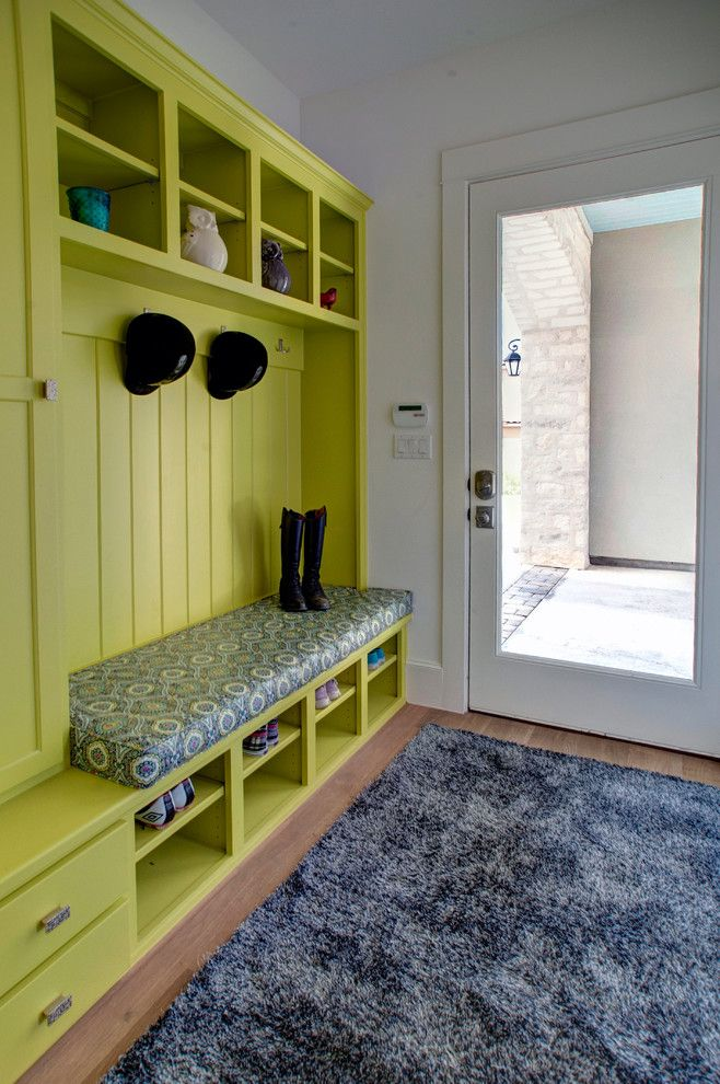 Pretty Hall Tree Storage Bench In Entry Contemporary With Mudroom Shoe Storage Ideas Next To