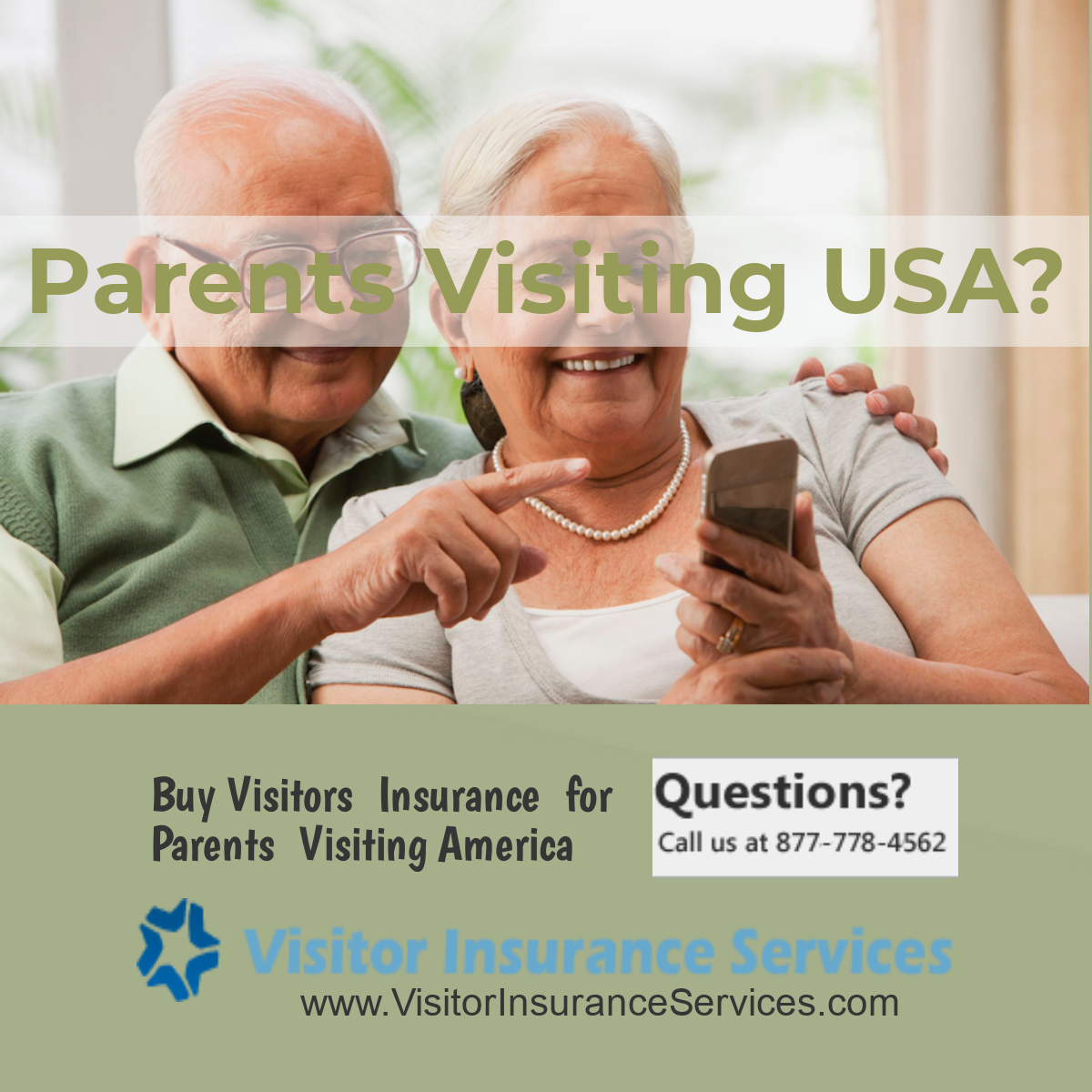 Visitor Insurance for Parents, Insurance for Parents