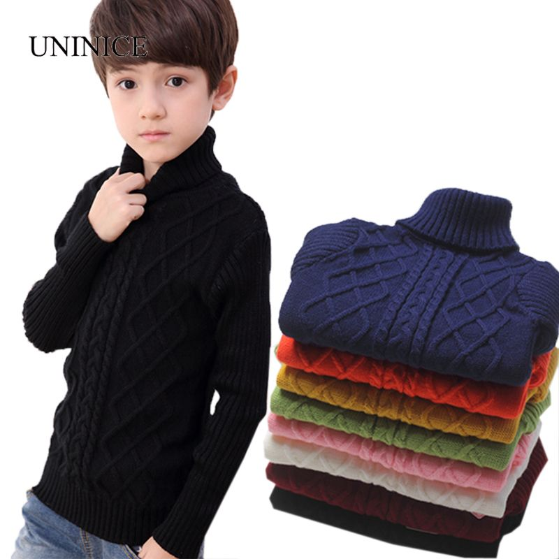 UNINICE Infant Baby Sweater Winter Warm Children Sweater For