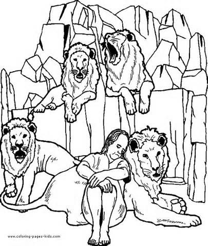 #coloring #daniel #den #lions #pages #2020 Check more at