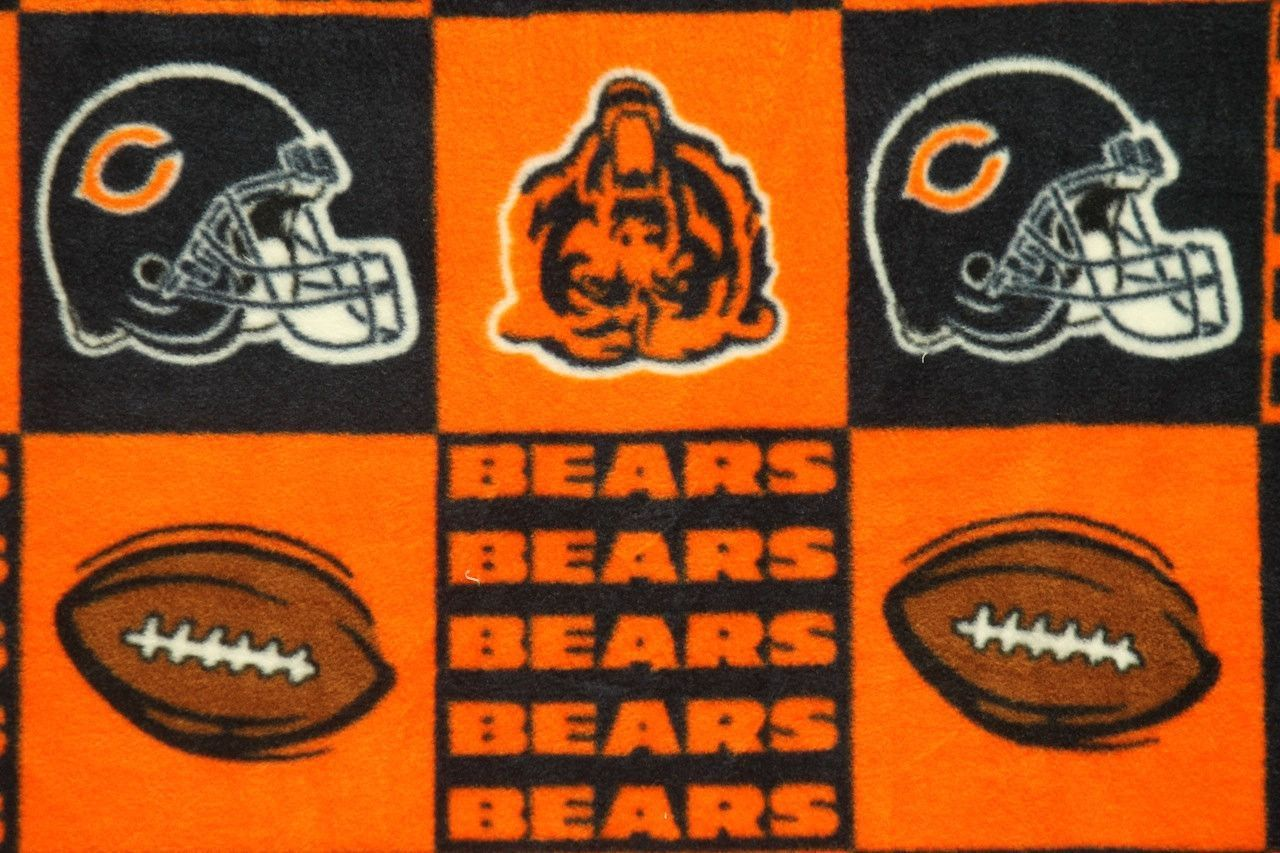 NFL Chicago Bears Fleece V3 Fabric