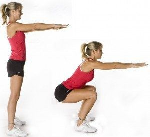 exerciții pentru squats în varicoză