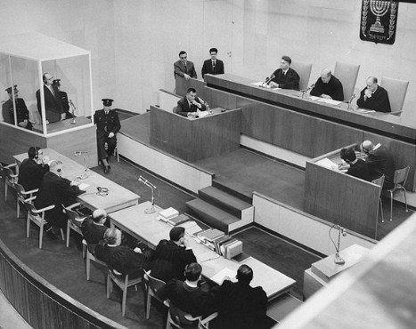 juicio a Adolf Eichmann, el primer gran evento televisado de la Historia. 1960