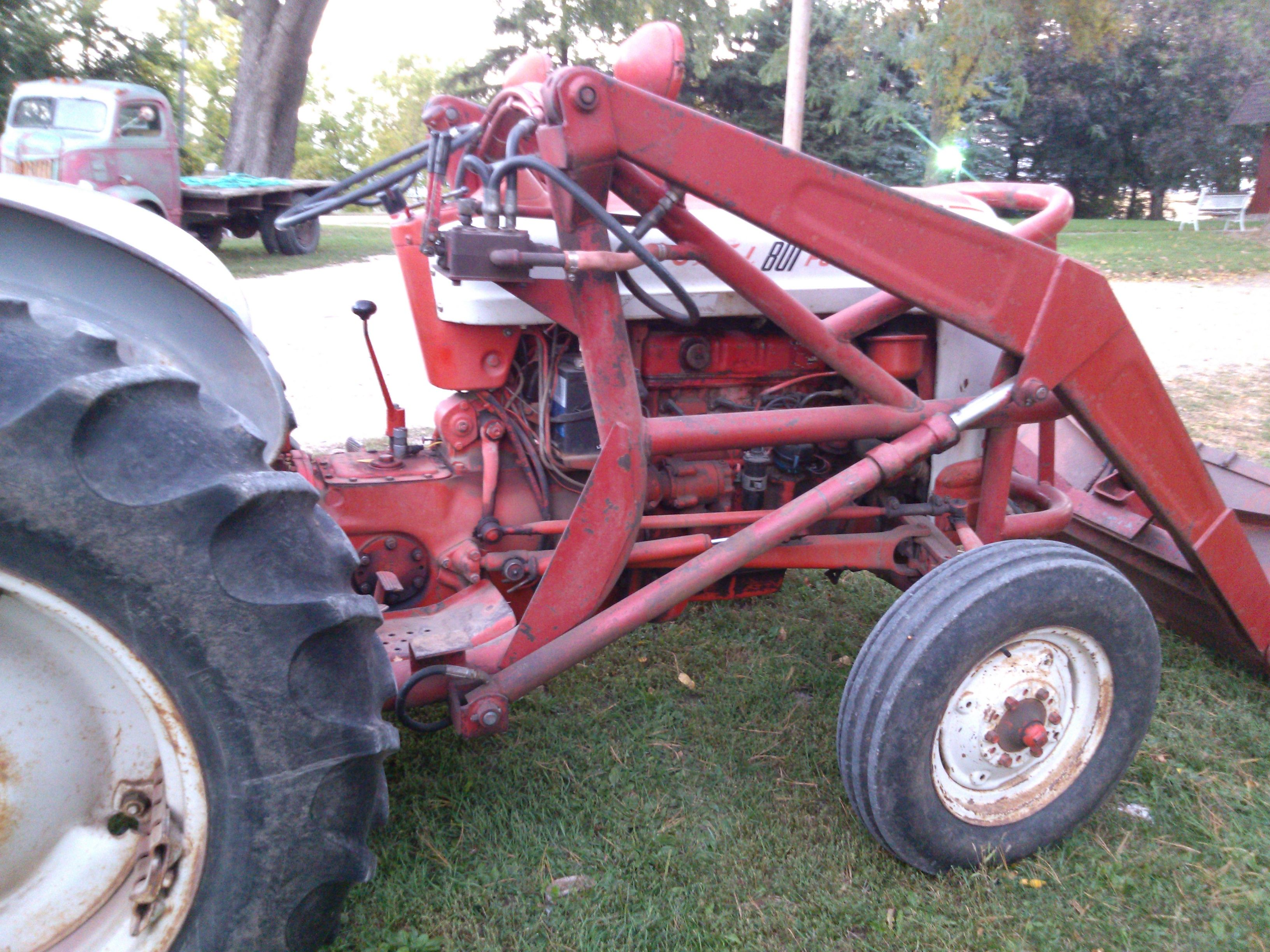 1959 Ford 861 Powermaster It Has Live Hydraulics Live Pto Power