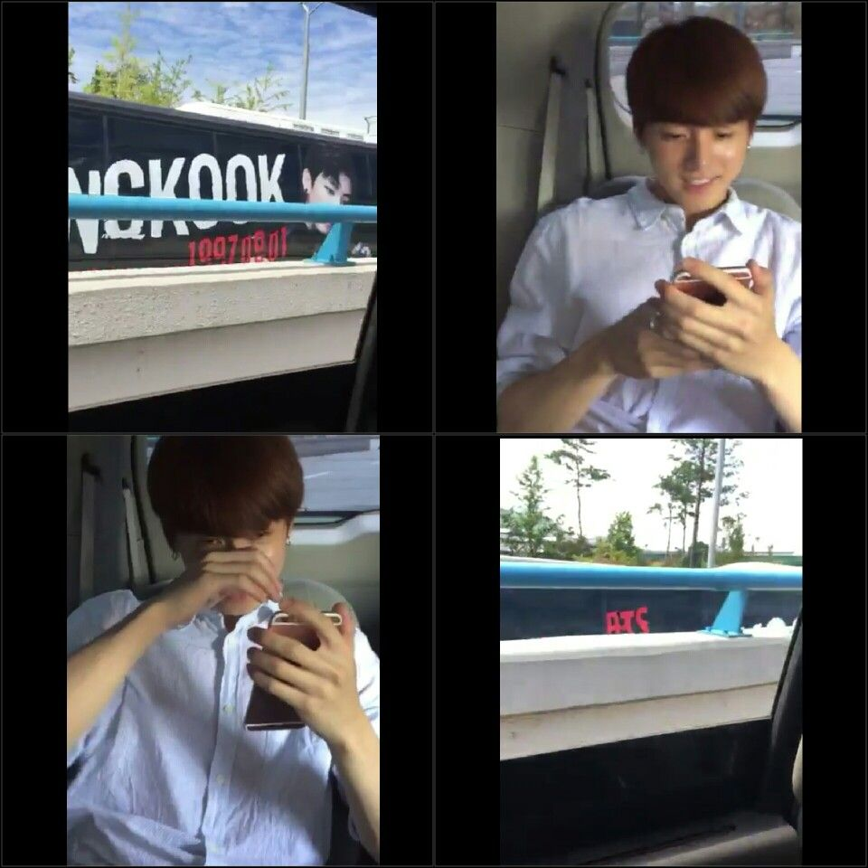 Jungkook saw the Jung-bus