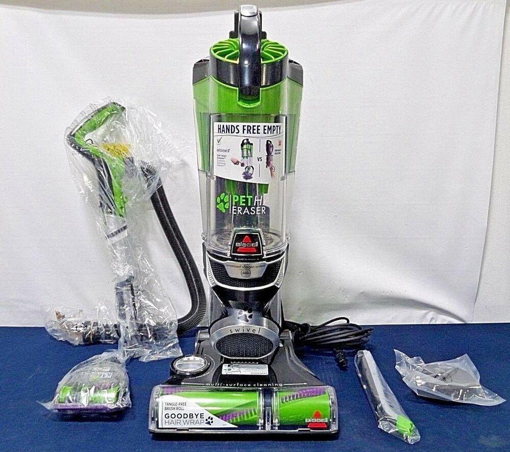 Bissell Pet Hair Eraser Upright Vacuum 1650 Afflink Vacuums In