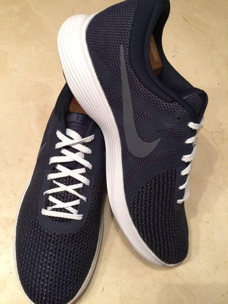 87f72a759851e NIKE REVOLUTION 4 MENS INDIGO LIGHT CARBON OBSIDIAN RUNNING SHOE 10M   fashion  clothing  shoes  accessories  mensshoes  athleticshoes (ebay link)