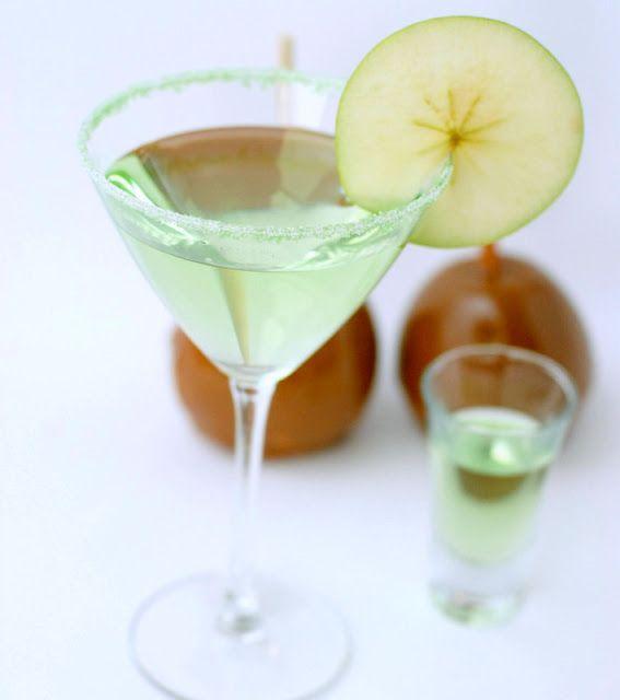 Caramel Apple Martini- maybe I will start drinking