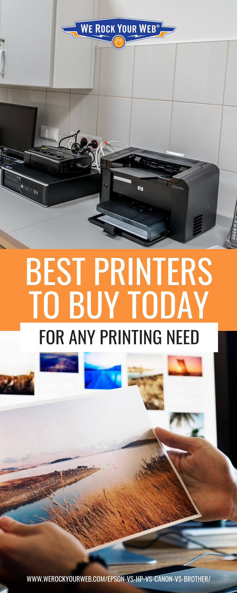 Best Printers By Type: Epson vs HP vs Canon vs Brother