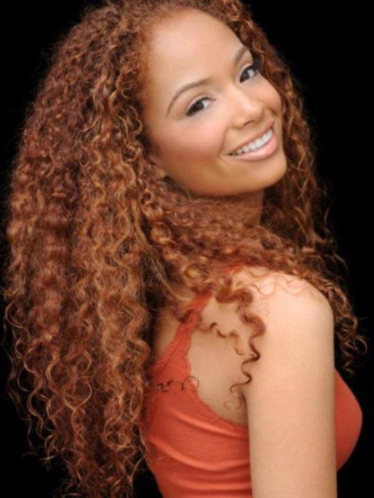 Long nature curly hair Latina  Texture  Pinterest
