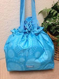 659f657a2b3 Thirty One 31 Aqua Dot Cinch It Up Insulated Lunch Bag | eBay ...