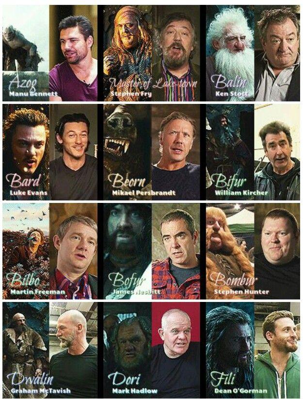 cast from the hobbit hobbit pinterest hobbit