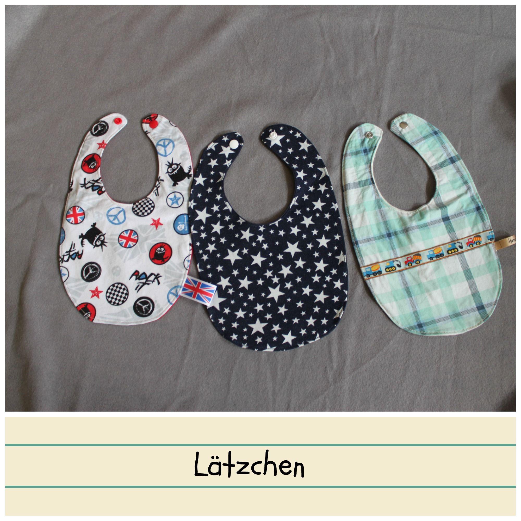 Babylätzchen für den Verkaufs-/Spendenstand
