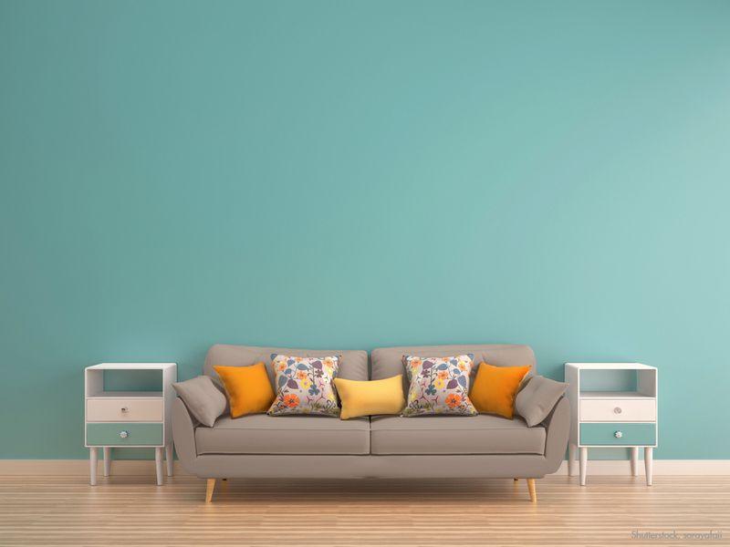 t rkis als wandfarbe wie gef llt euch die kombination mit warmen dezenten braun grau t nen. Black Bedroom Furniture Sets. Home Design Ideas
