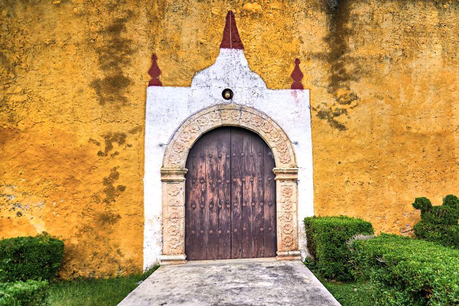 Santa ana church valladolid yucatan mexico doors - Santa ana valladolid ...