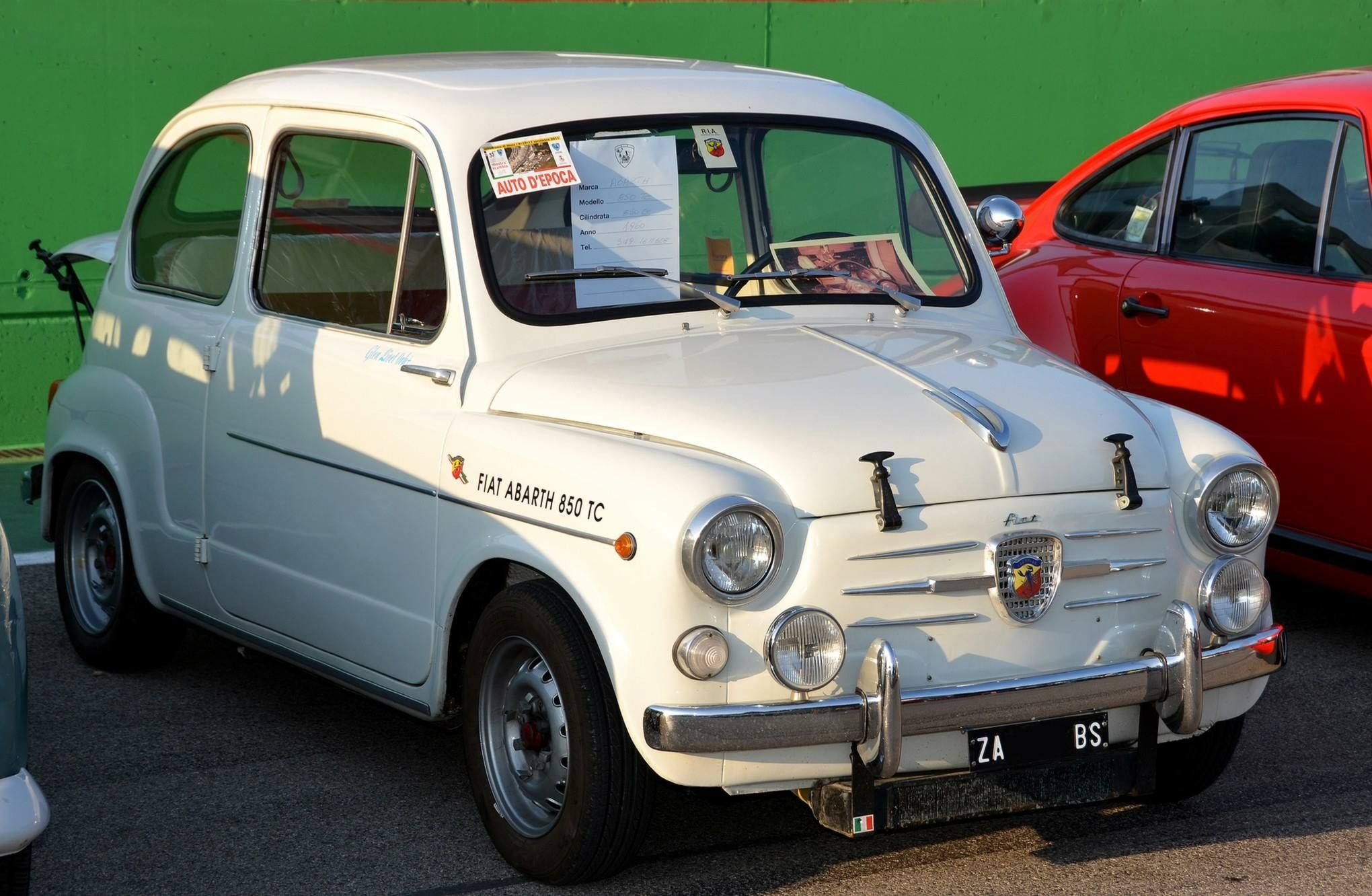 Fiat Abarth 850 Tc Fiat 600 Autos Coches
