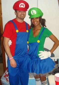 Mario And Luigi Halloween Costumes For Couples Google Search