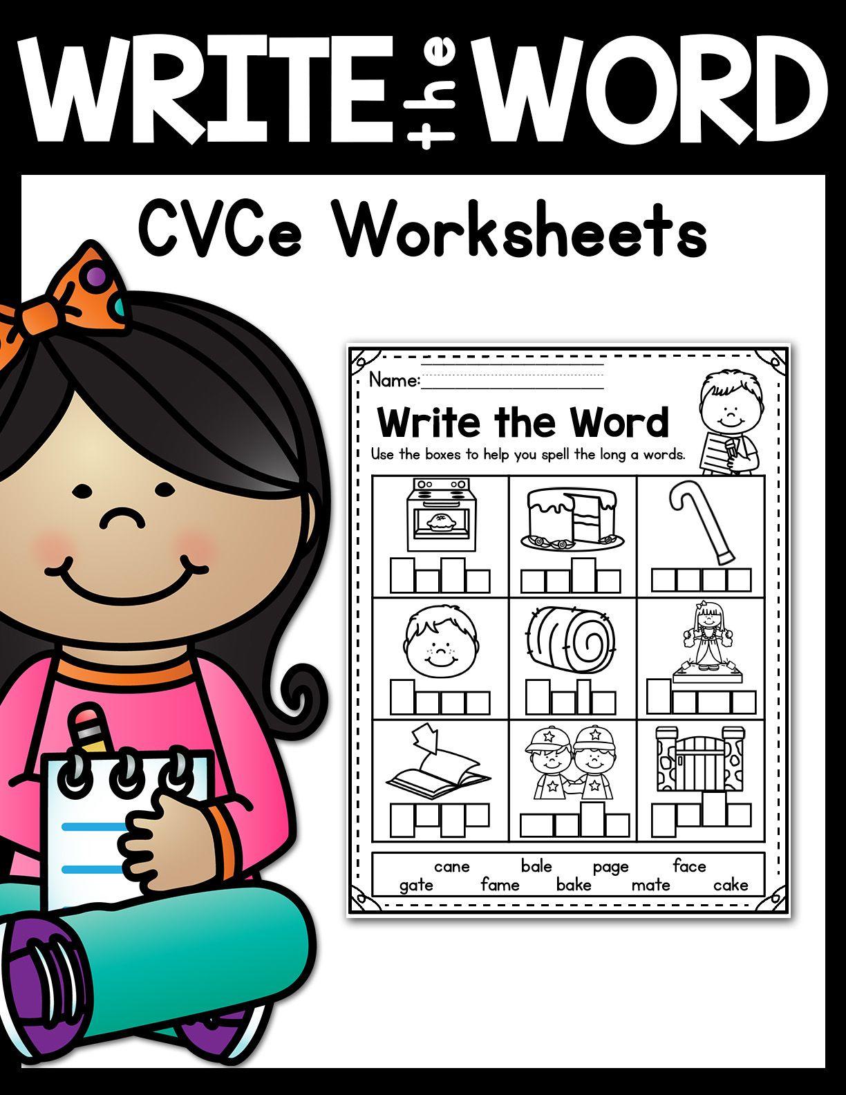 Cvce Worksheets