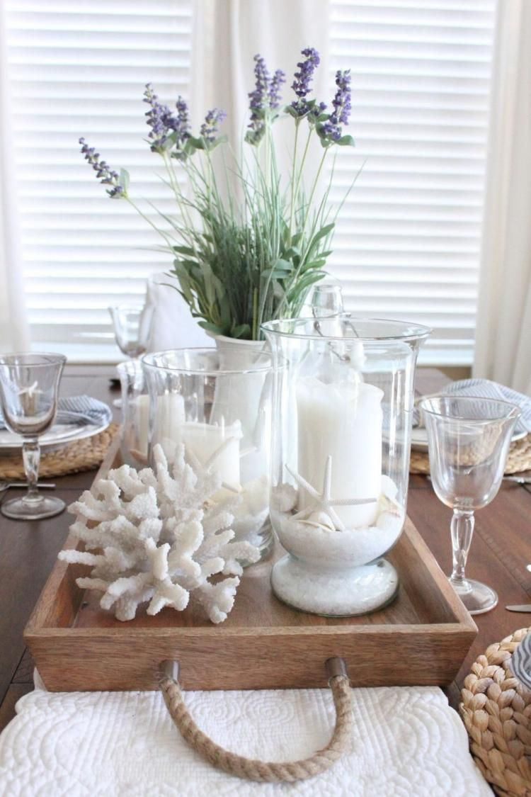 25+ DIY Spring Dining Room Table Centerpiece Inspirations