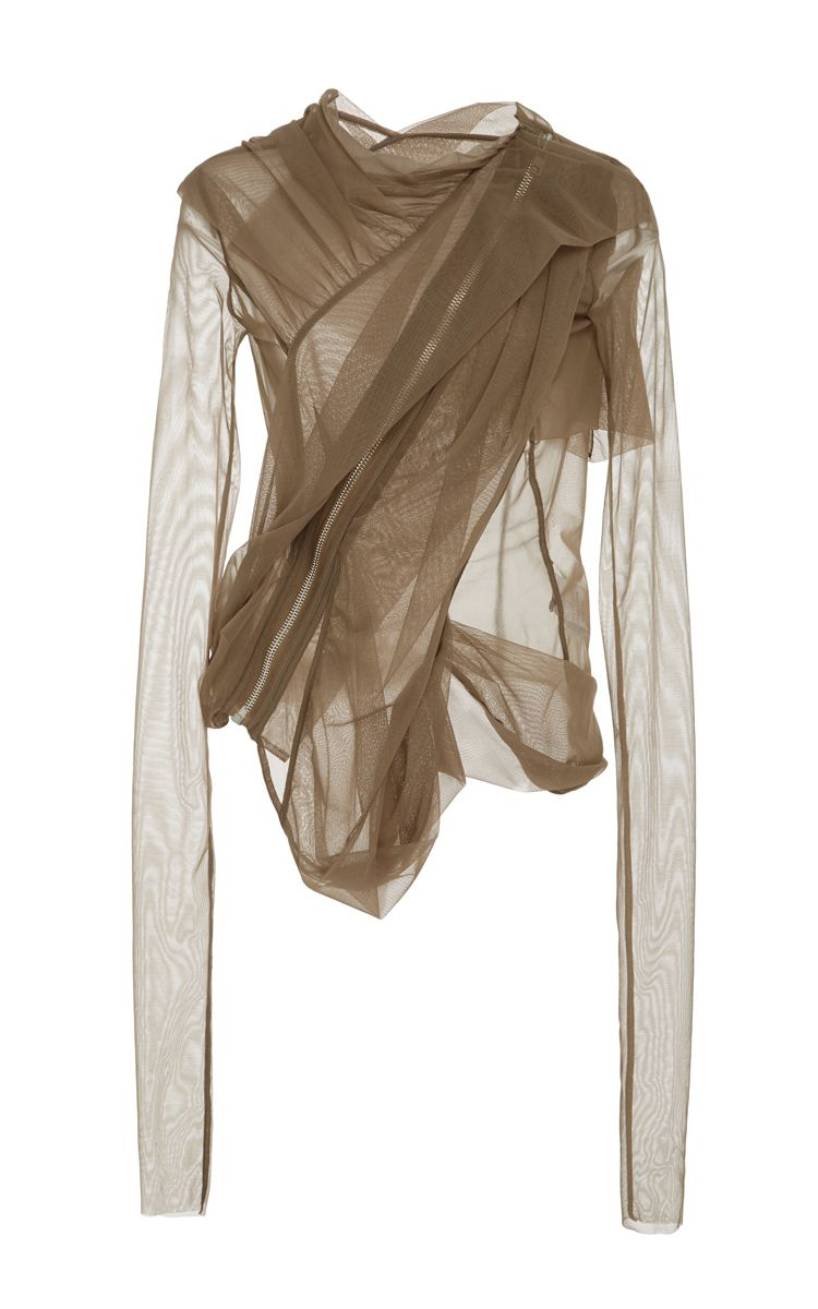 cd8847a656ed7c Sheer Tulle Jacket by RICK OWENS LILIES Now Available on Moda Operandi