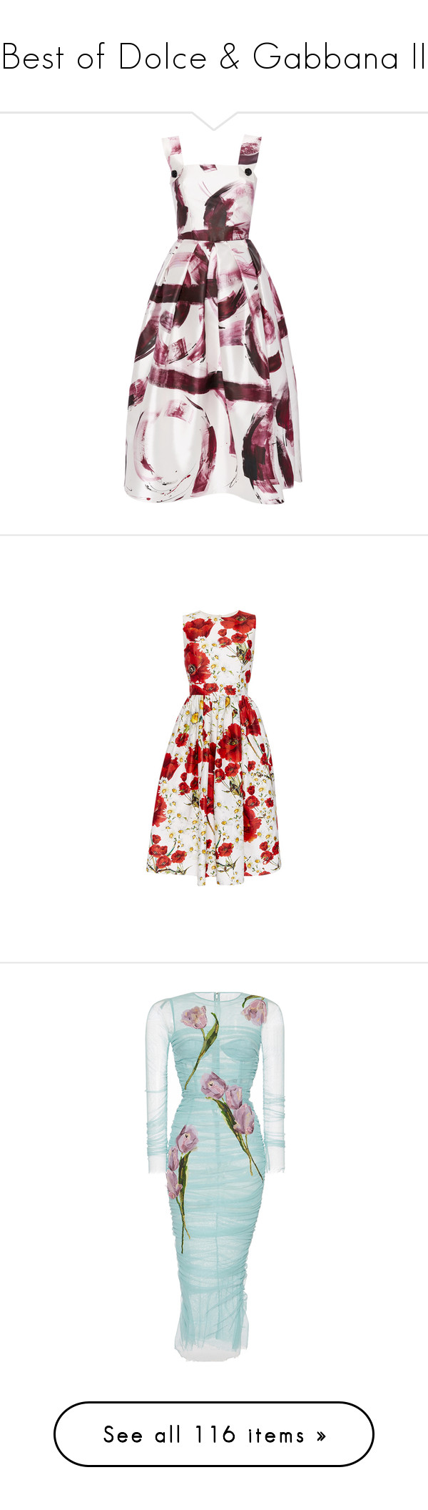 """Best of Dolce & Gabbana II"" by sakuragirl ❤ liked on Polyvore featuring dresses, dolce & gabbana, sleeveless cocktail dress, pattern dress, silk cocktail dress, sleeveless dress, white sleeveless dress, flower printed dress, white floral dress and white day dress"