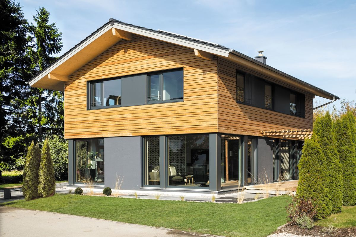 musterhaus poing m nchen regnauer hausbau gmbh co kg musterhaus online haus von au en. Black Bedroom Furniture Sets. Home Design Ideas