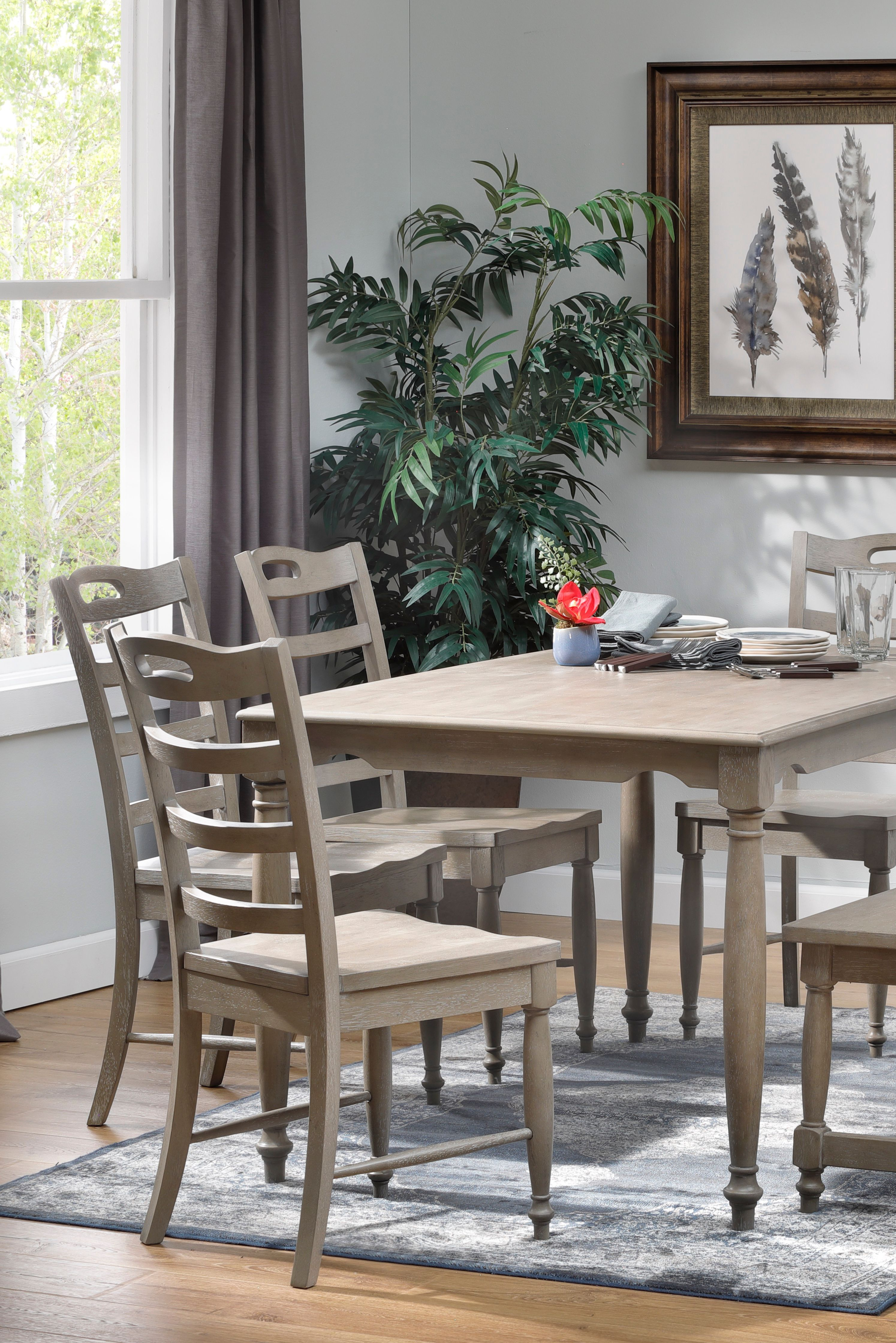 Briar 5 Pc Dining Room Set In 2020 Rowe Furniture Dining