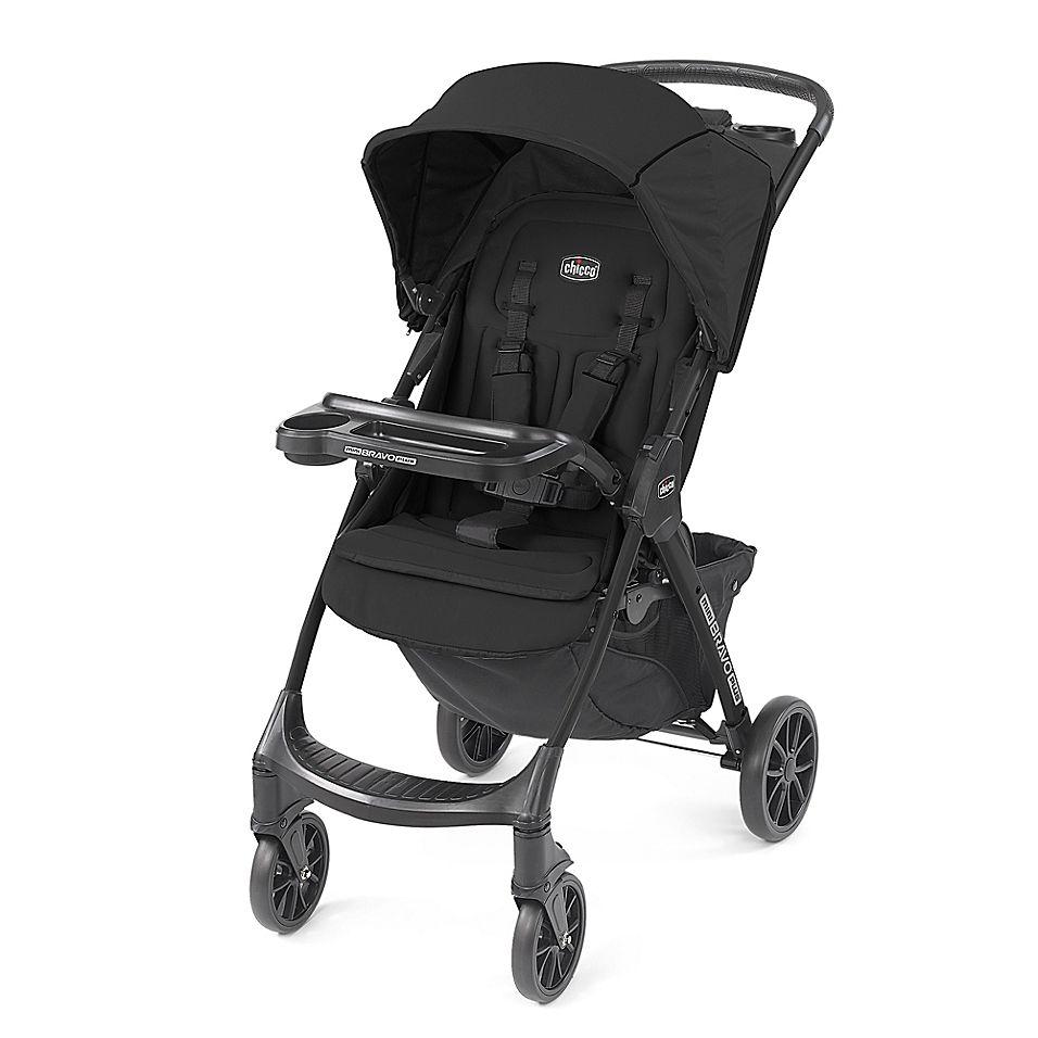 Chicco Mini Bravo Plus Stroller In Storm Black | Umbrella ...