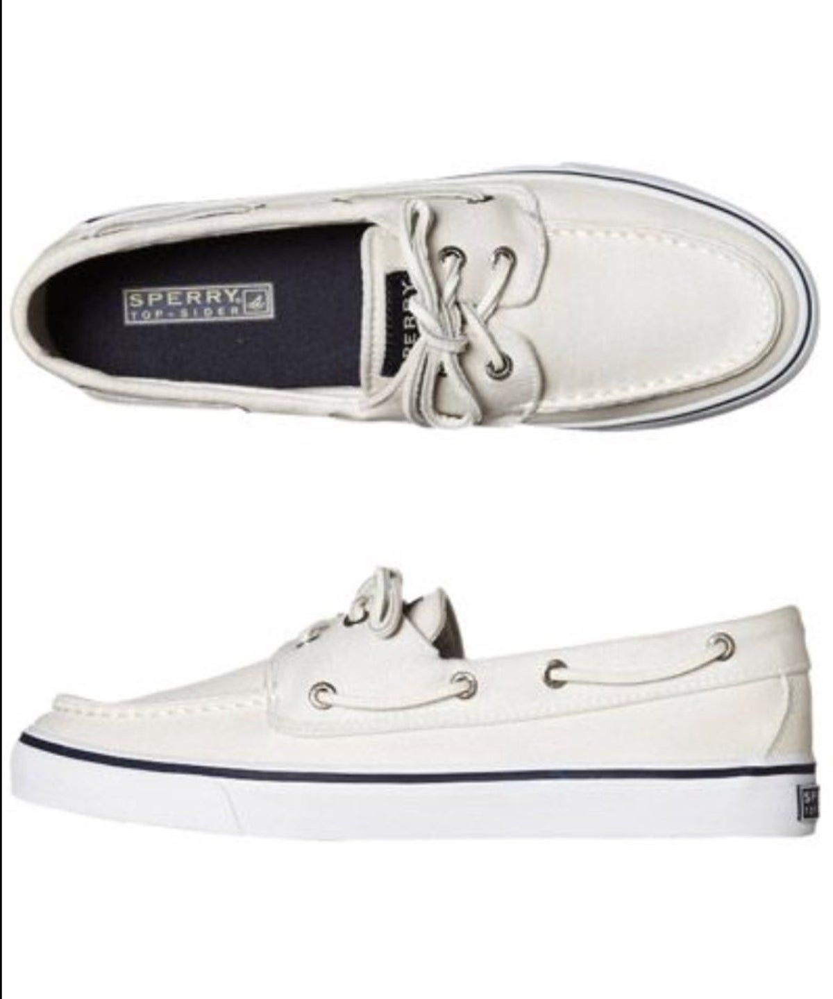 White Sperry boat shoes in 2020 | Boat