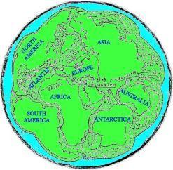 jerusalem world map pangea - Google zoeken | Bible Prophecy ...
