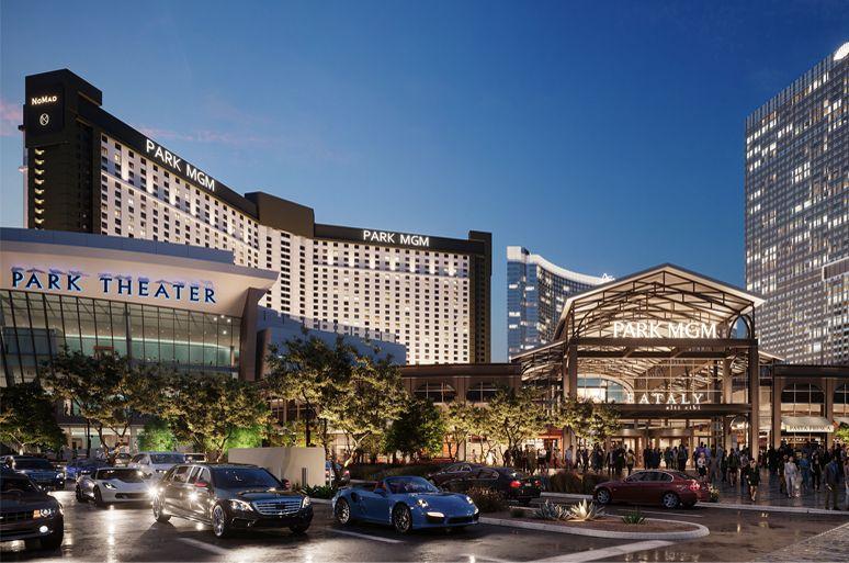Park Mgm Concept Art Las Vegas Parks Las Vegas Hotels Mgm Las