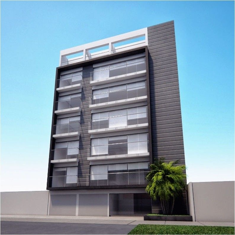 Image result for fachadas edificios modernos 4 pisos for Pisos para departamentos pequenos