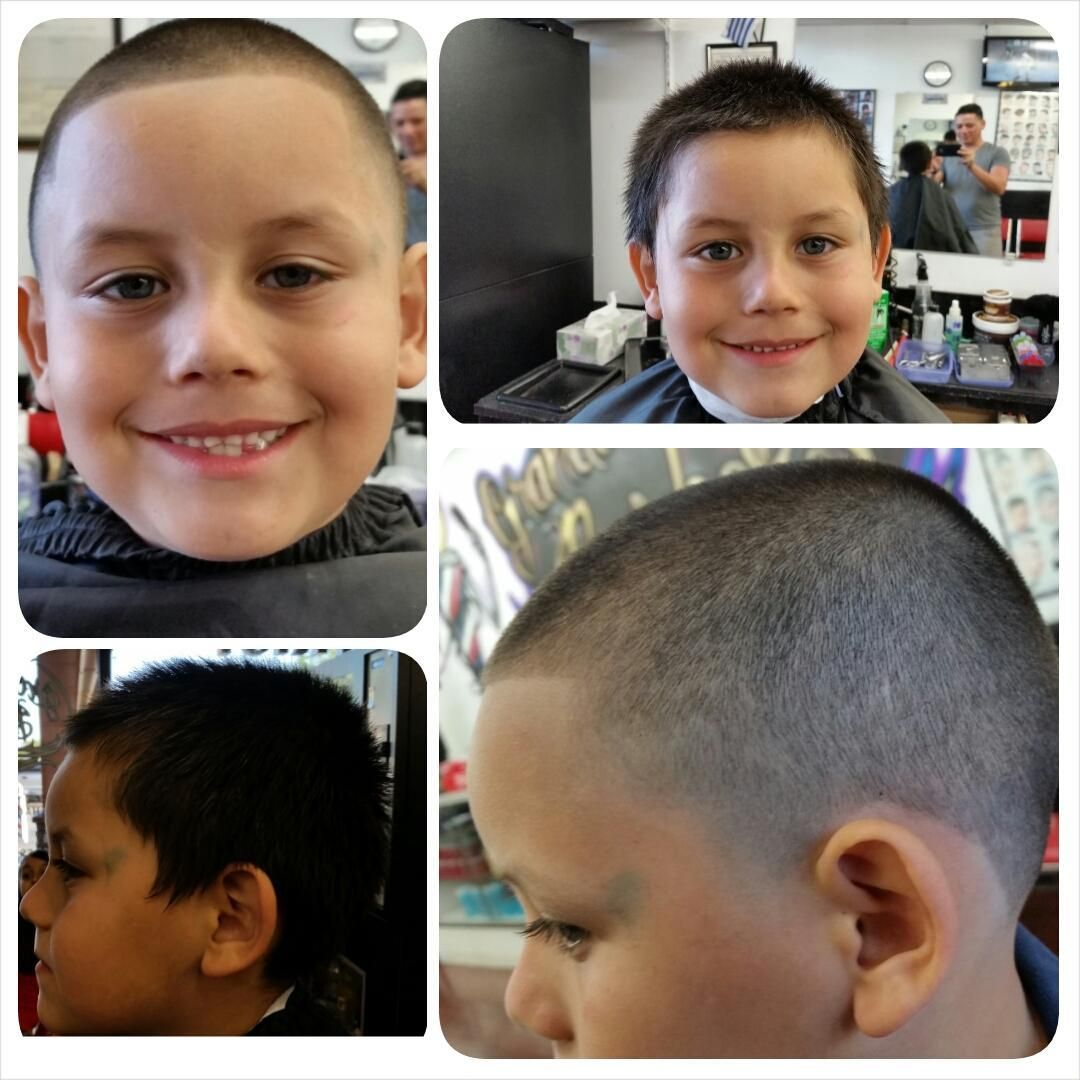 Taper Fades Haircut Taper Fades Haircut looks good on your kid! #taperfades #taperfadeshaircut